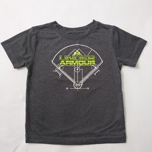Under Armour Boy's Graphic Tee